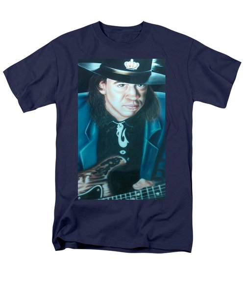 Stevie Ray Vaughn Men's T-Shirt  (Regular Fit) by Darren Robinson