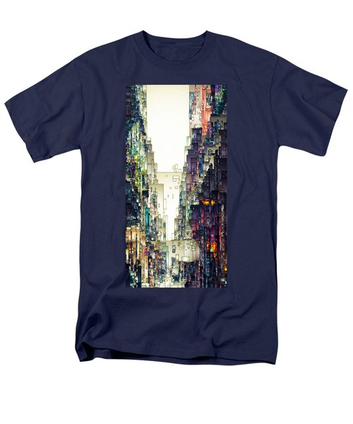 Streetscape 1 Men's T-Shirt  (Regular Fit) by David Hansen