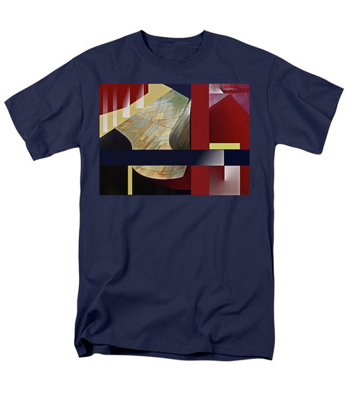 Structure 0217 Men's T-Shirt  (Regular Fit) by Walter Fahmy
