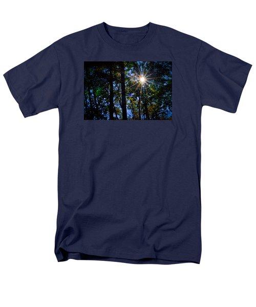 Men's T-Shirt  (Regular Fit) featuring the photograph Sun Star by Carlee Ojeda