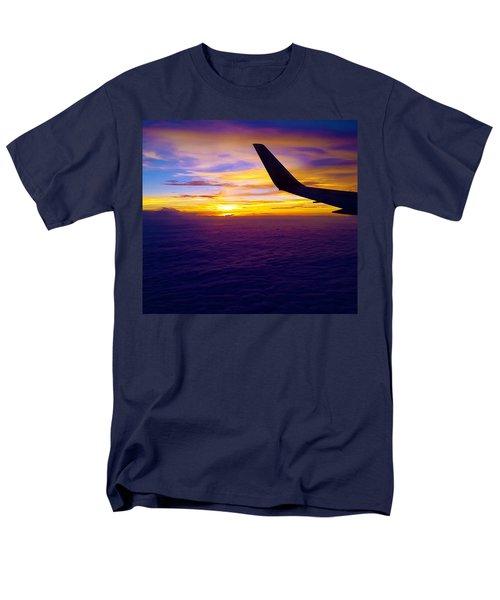 Sunrise Above The Clouds Men's T-Shirt  (Regular Fit) by Judi Saunders