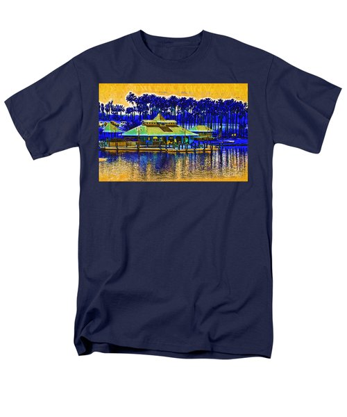 Sunrise At The Boat Dock Men's T-Shirt  (Regular Fit) by Kirt Tisdale