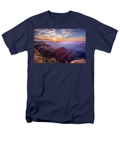 Sunset At Grand Canyon Men's T-Shirt  (Regular Fit) by Daniel Heine