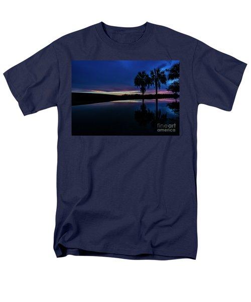 Sunset Palms Men's T-Shirt  (Regular Fit) by Brian Jones
