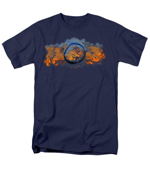 Men's T-Shirt  (Regular Fit) featuring the photograph Sunset Rings by Sami Tiainen