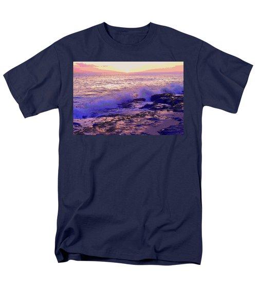 Sunset, West Oahu Men's T-Shirt  (Regular Fit) by Susan Lafleur