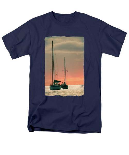 Sunset Yachts Men's T-Shirt  (Regular Fit) by Konstantin Sevostyanov