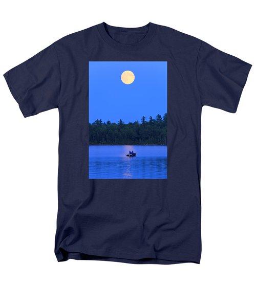 Super Moon At The Lake Men's T-Shirt  (Regular Fit)