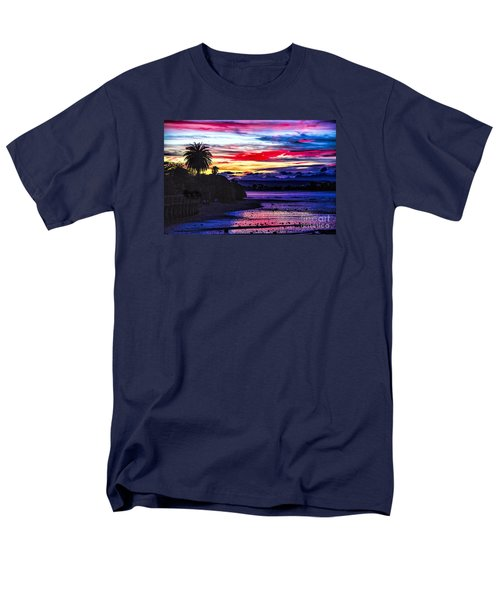 Men's T-Shirt  (Regular Fit) featuring the photograph Suset Beach by Rick Bragan