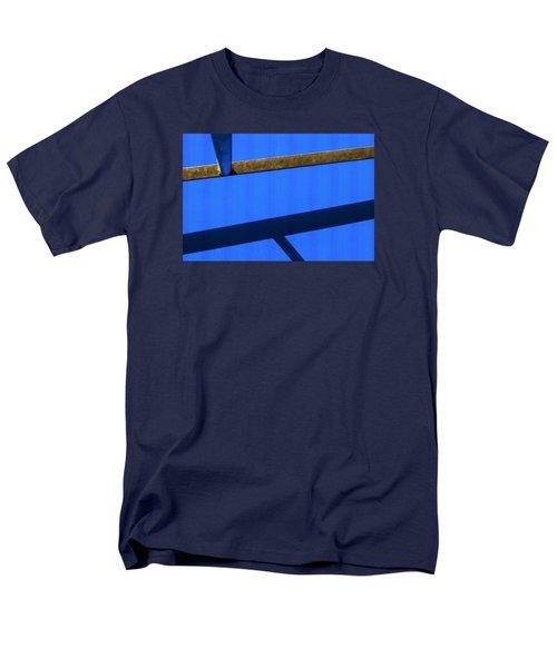 Men's T-Shirt  (Regular Fit) featuring the photograph T Point by Prakash Ghai
