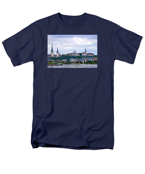 Tallinn Estonia. Men's T-Shirt  (Regular Fit) by Terence Davis