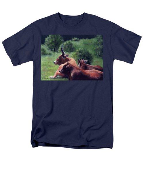 Tennessee Longhorn Steers Men's T-Shirt  (Regular Fit)