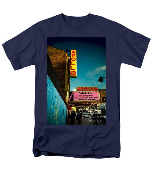 The Apollo Theater Men's T-Shirt  (Regular Fit) by Ben Lieberman