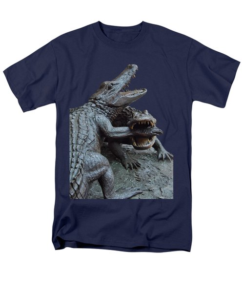 The Chomp Transparent For Customization Men's T-Shirt  (Regular Fit) by D Hackett