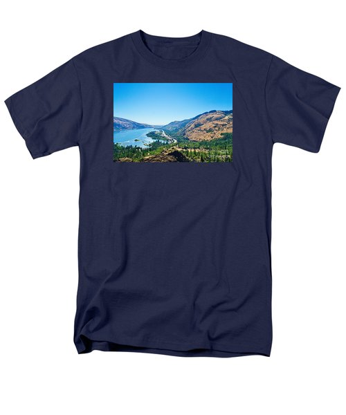 The Columbia River Gorge Men's T-Shirt  (Regular Fit) by Ansel Price