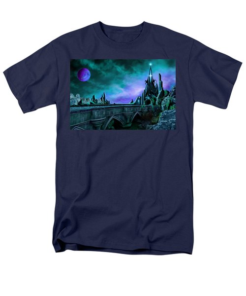 The Crystal Palace - Nightwish Men's T-Shirt  (Regular Fit) by James Christopher Hill