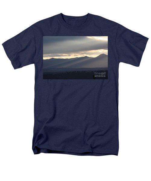 Men's T-Shirt  (Regular Fit) featuring the photograph The Dying Of The Day by Brian Boyle