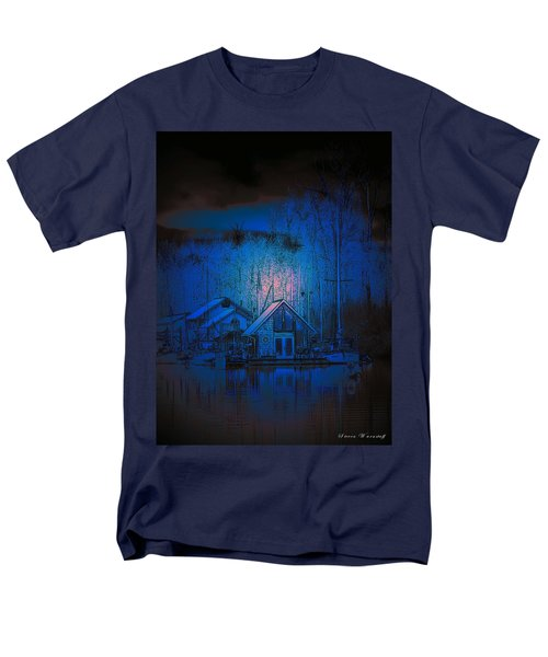 The Edge Of Night Men's T-Shirt  (Regular Fit) by Steve Warnstaff