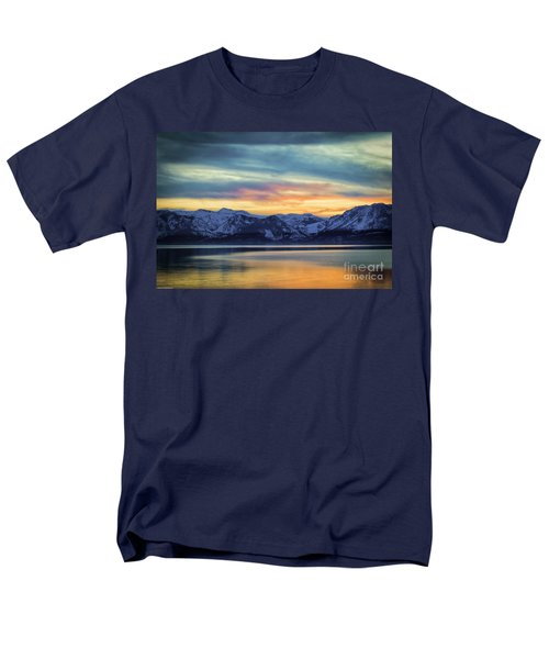 The Evening Colors Men's T-Shirt  (Regular Fit) by Mitch Shindelbower