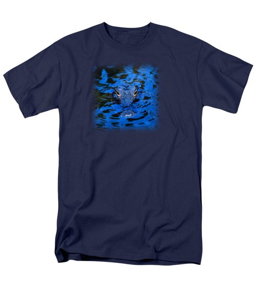 The Eyes Of A Florida Alligator Men's T-Shirt  (Regular Fit)