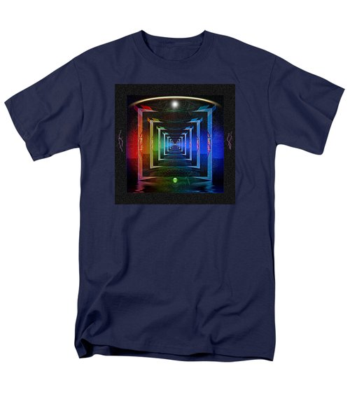 Men's T-Shirt  (Regular Fit) featuring the digital art The Fundamental Roots Of The Cosmos by Mario Carini