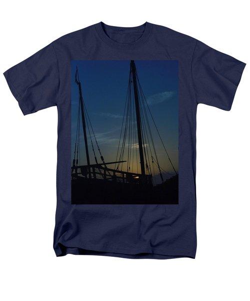 Men's T-Shirt  (Regular Fit) featuring the photograph The Journey Began by John Glass