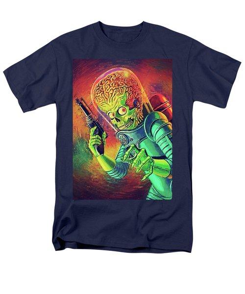 The Martian - Mars Attacks Men's T-Shirt  (Regular Fit) by Taylan Apukovska