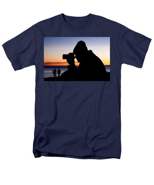 The Photographer Men's T-Shirt  (Regular Fit) by Greg Fortier