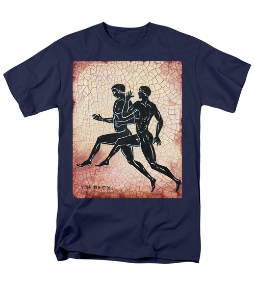 The Runners Men's T-Shirt  (Regular Fit) by Victor Minca