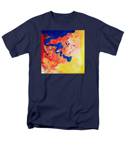 Men's T-Shirt  (Regular Fit) featuring the painting The Spill by Mary Kay Holladay