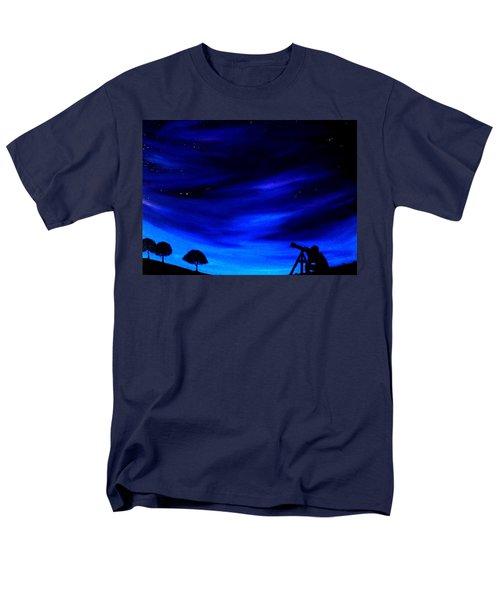 The Star Gazer Men's T-Shirt  (Regular Fit) by Scott Wilmot