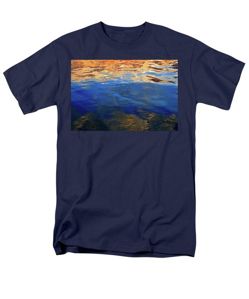 The Surface Is A Reflection  Men's T-Shirt  (Regular Fit) by Lyle Crump