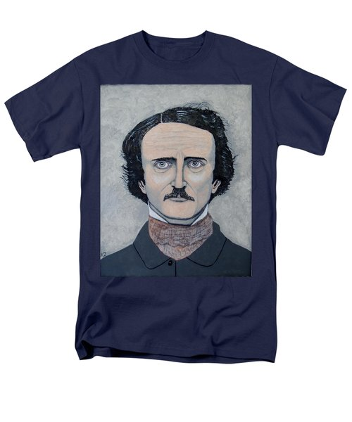 The Telltale Heart Of Edgar Allen Poe. Men's T-Shirt  (Regular Fit) by Ken Zabel