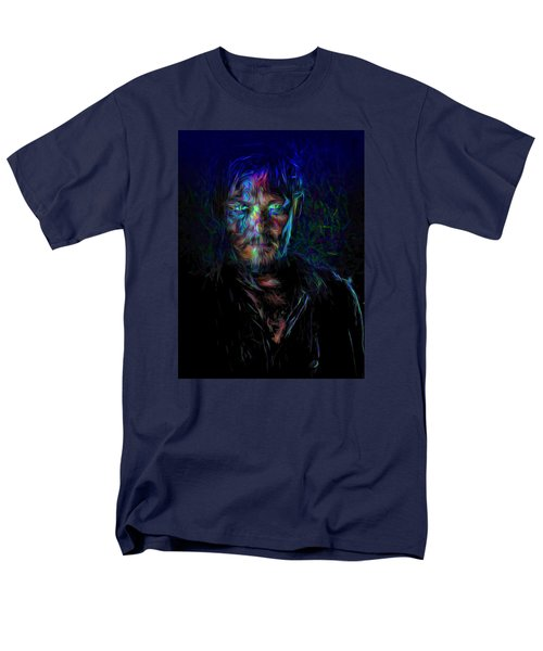The Walking Dead Daryl Dixon Painted Men's T-Shirt  (Regular Fit) by David Haskett
