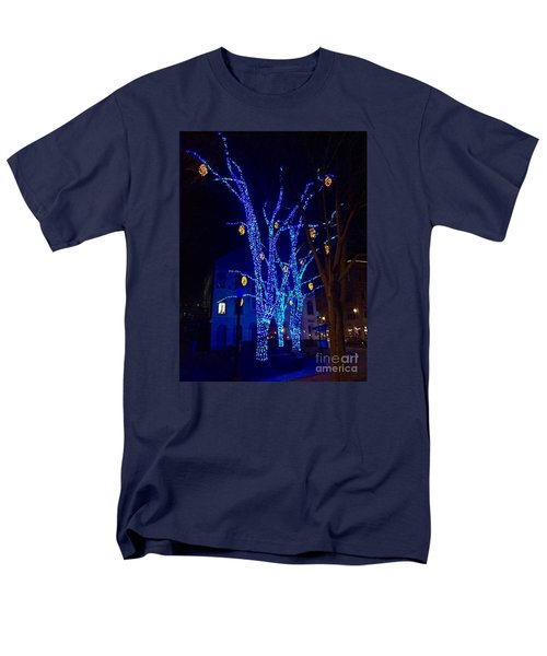 Tommy's Park, Portland, Maine,, Christmas 2015 Men's T-Shirt  (Regular Fit) by Patricia E Sundik