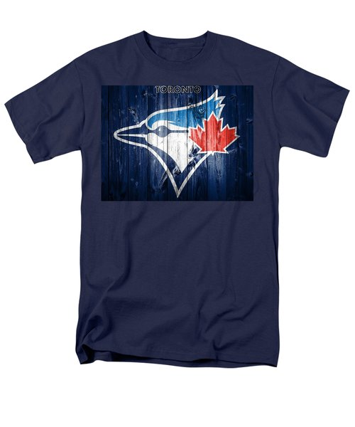 Toronto Blue Jays Barn Door Men's T-Shirt  (Regular Fit) by Dan Sproul