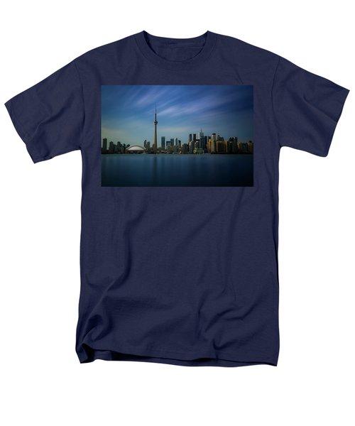 Toronto Cityscape Men's T-Shirt  (Regular Fit) by Ian Good