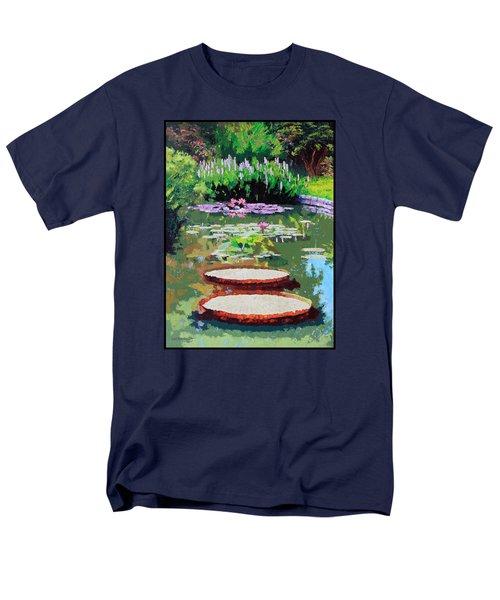 Tower Grove Park Men's T-Shirt  (Regular Fit) by John Lautermilch