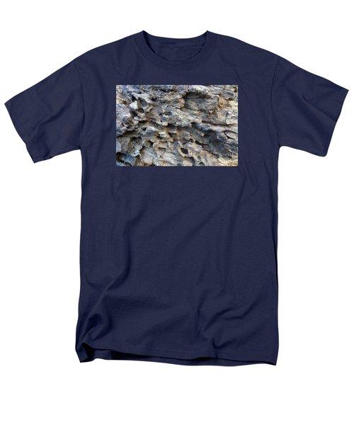 Men's T-Shirt  (Regular Fit) featuring the photograph Tree Bark 1 by Jean Bernard Roussilhe