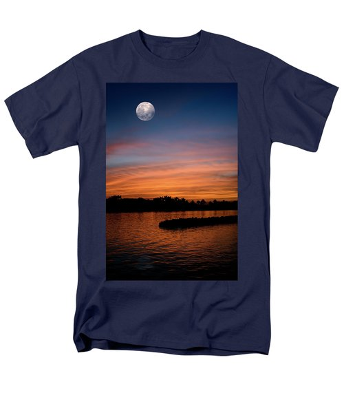 Men's T-Shirt  (Regular Fit) featuring the photograph Tropical Moon by Laura Fasulo