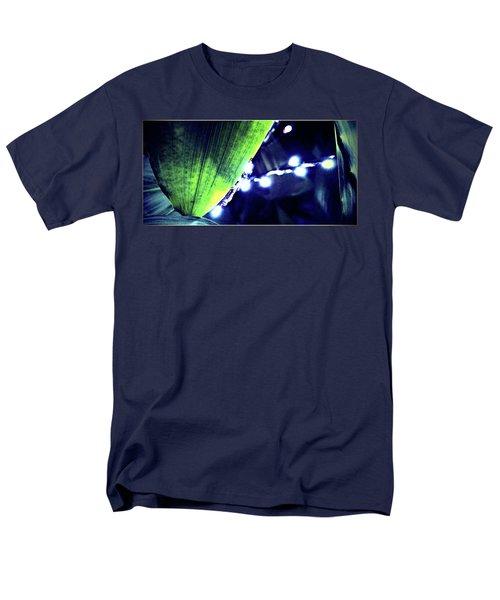 Men's T-Shirt  (Regular Fit) featuring the digital art Tropical Night by Mindy Newman