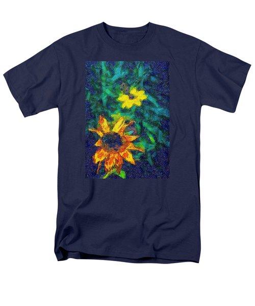 Two Flowers Men's T-Shirt  (Regular Fit) by Carlee Ojeda