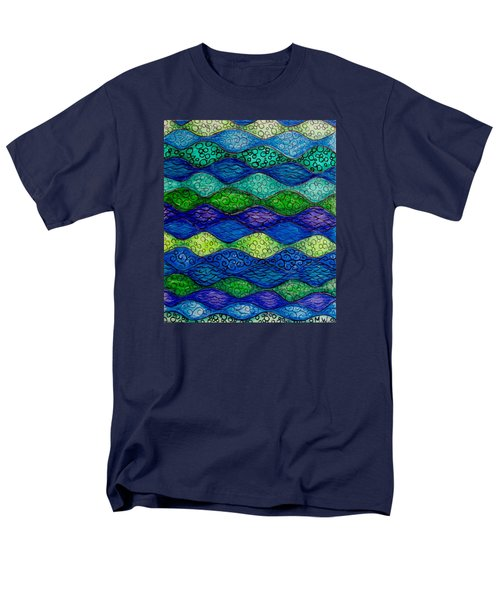 Underwater Abstract 1 Men's T-Shirt  (Regular Fit) by Megan Walsh