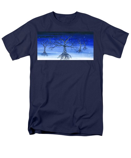 Men's T-Shirt  (Regular Fit) featuring the painting Underworld by Kenneth Clarke