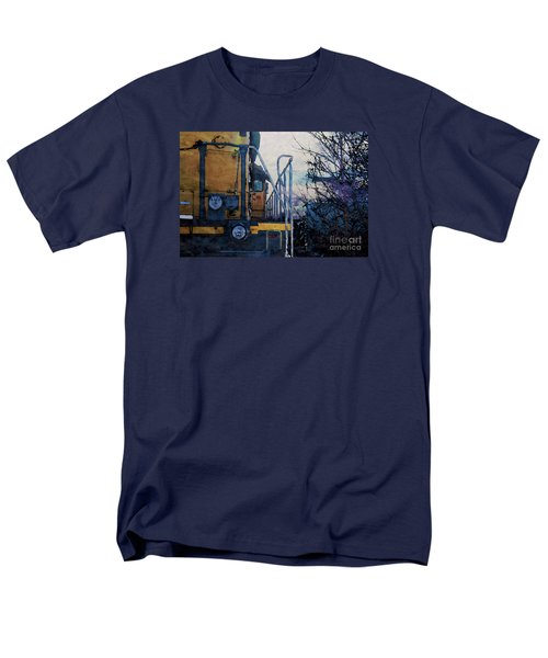 Union Pacific 1474 Men's T-Shirt  (Regular Fit) by David Blank