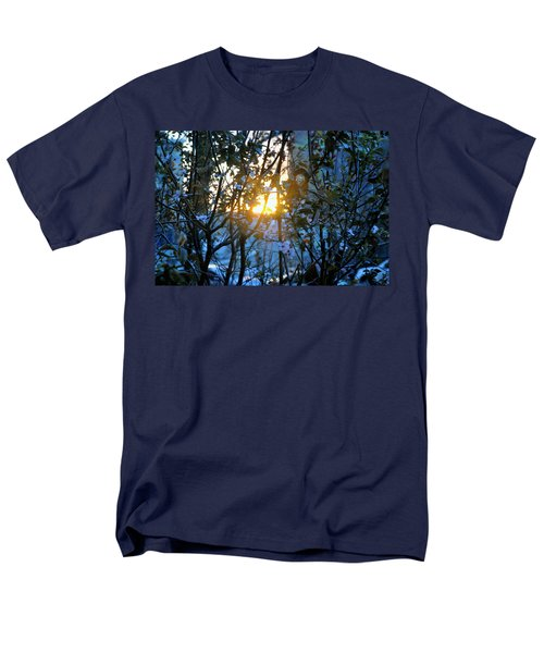 Urban Sunset Men's T-Shirt  (Regular Fit) by Sarah McKoy