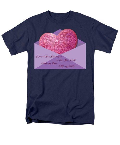 Valentine 05 Men's T-Shirt  (Regular Fit) by Ericamaxine Price