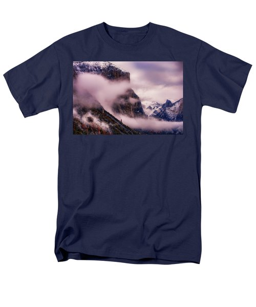 Valley Mood, Yosemite Men's T-Shirt  (Regular Fit) by Vincent James