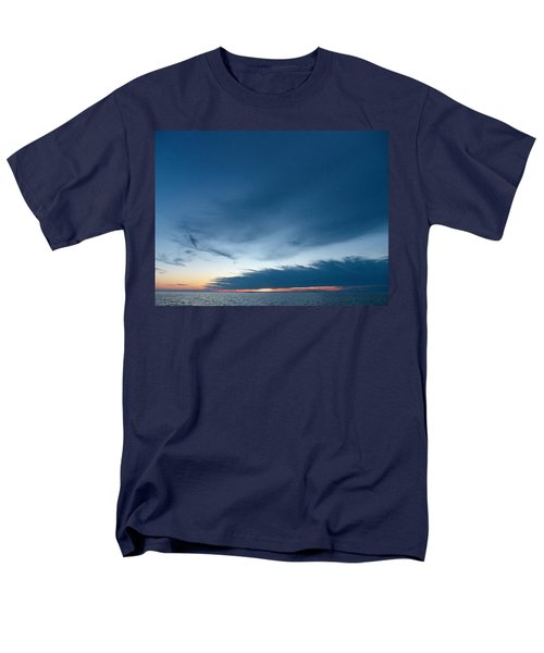Men's T-Shirt  (Regular Fit) featuring the photograph Variations Of Sunsets At Gulf Of Bothnia 4 by Jouko Lehto