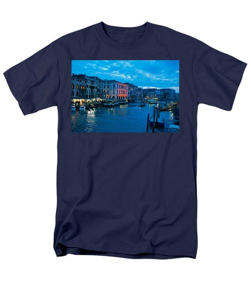 Men's T-Shirt  (Regular Fit) featuring the photograph Venice Evening by Eric Tressler